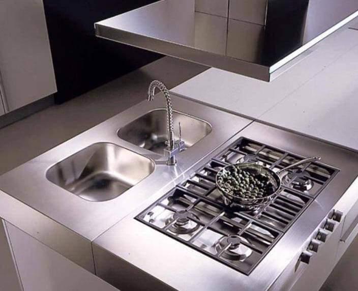 Stainless Steel Modular Kitchen Cabinets Ss Modular Kitchens