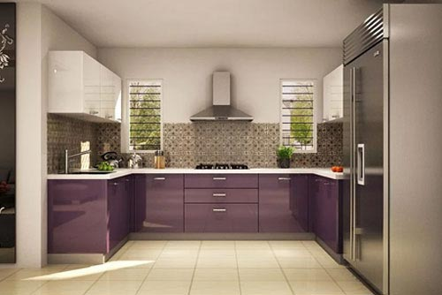 U-Shaped kitchens