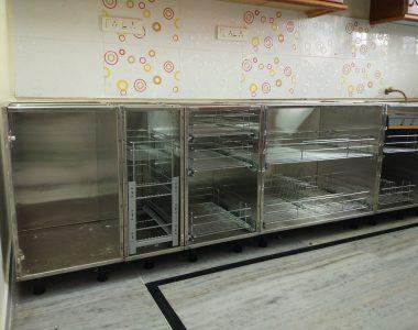 Parallel Modular Kitchen Cabinets