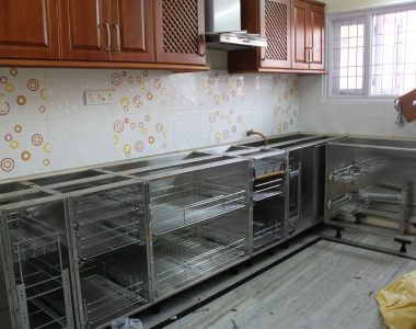 L Shaped Kitchen Cabinets