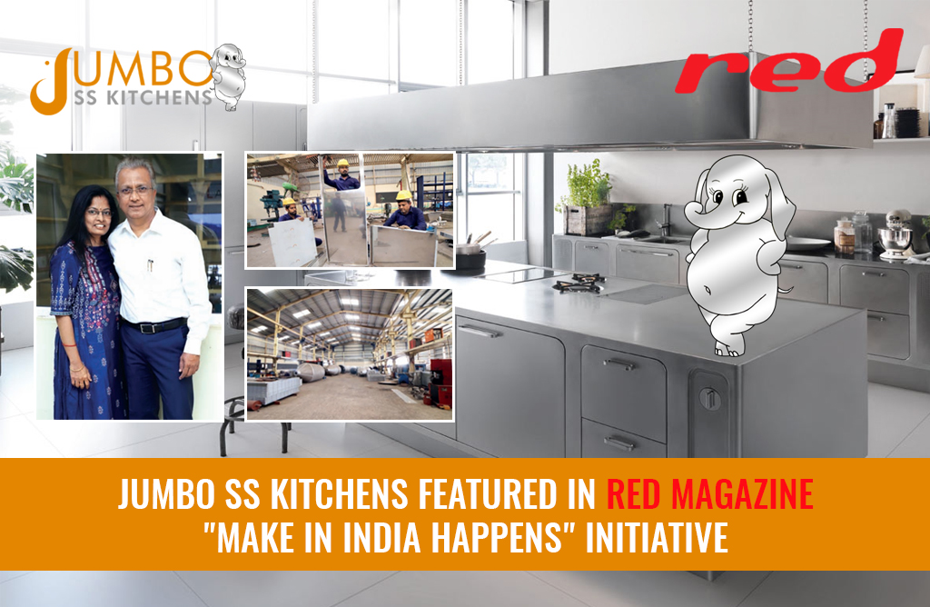 Jumbo SS Kitchens featured in Red Magazine