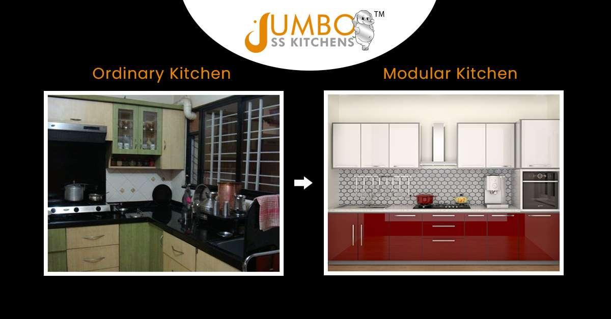 Normal Kitchen Vs. Modular Kitchen