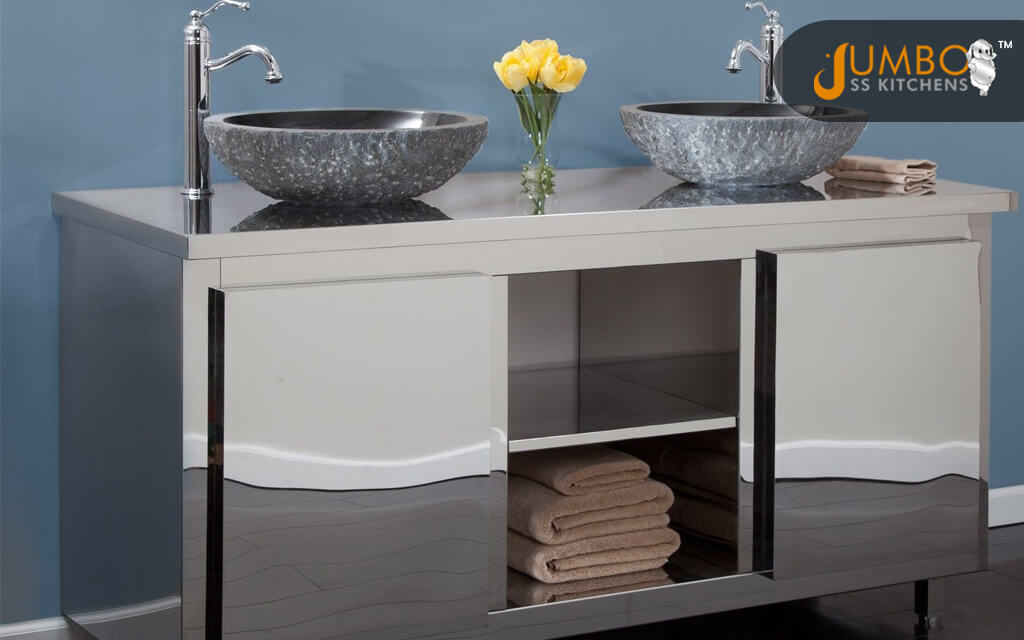 Stainless Steel Vanity Cabinets