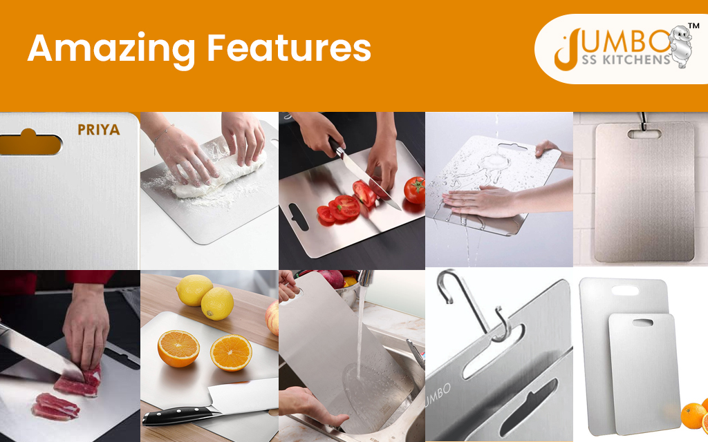 Benefits of Stainless Steel Chopping Board