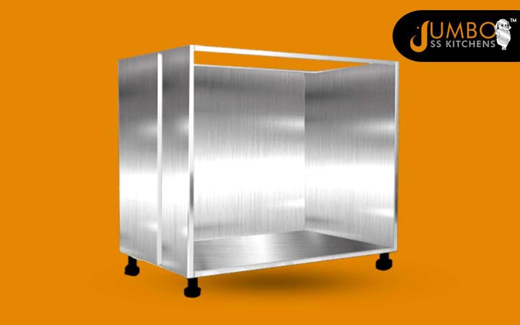 304 Grade SS Base Cabinets